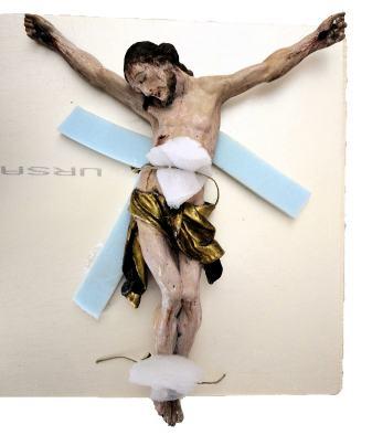 Christusfigur am Kreuz/2016 | Klaus Fabricius | Artist Künstler | Information