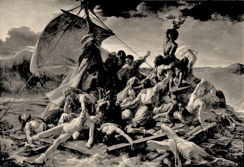 Das Floß der Medusa /1819/Théodore Géricault/1791-1824 | Klaus Fabricius | Artist Künstler | Information
