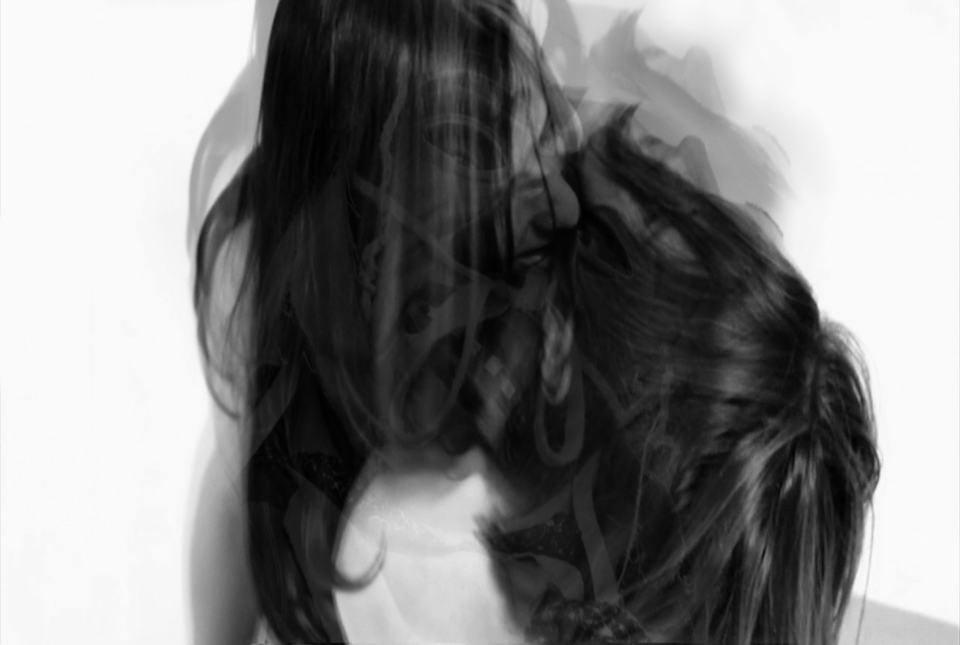 Der Kuss/2020/Fotografie [digital Collage]Digitaldruck auf Paier/60x40cm | Klaus Fabricius | Artist Künstler | Information