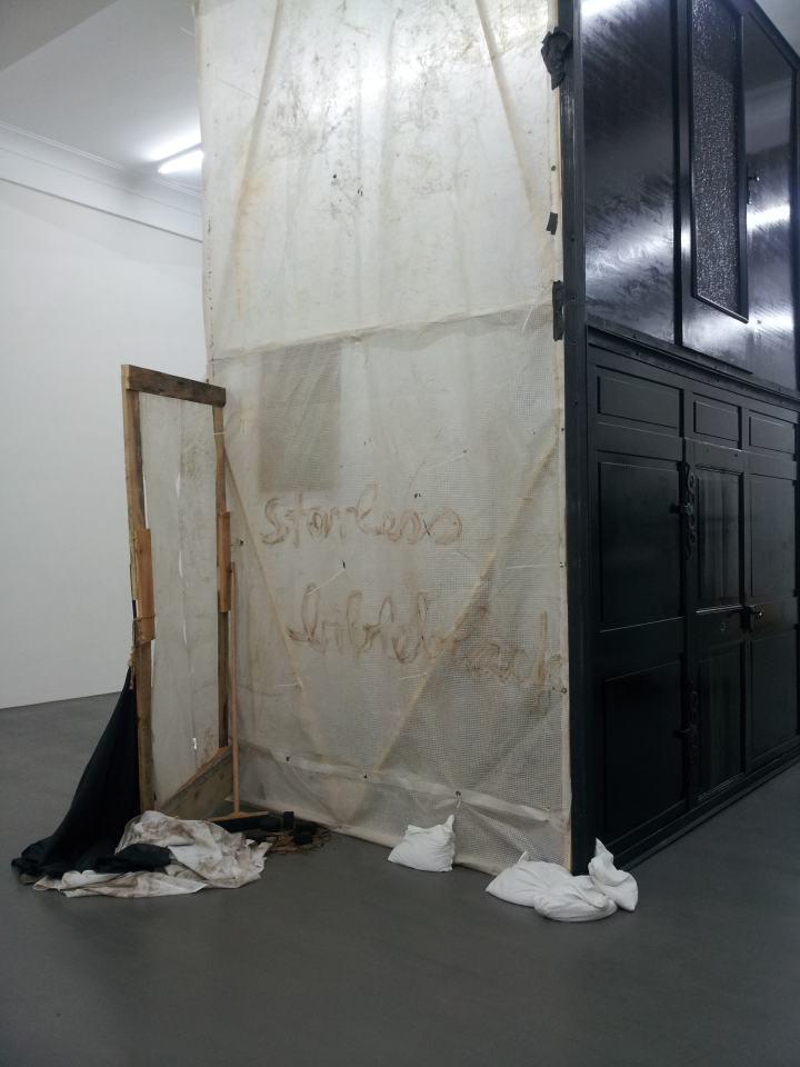 Dialog-Trialog #2 mit Phillpp Morlock [Relief/Türwände] | Klaus Fabricius | Artist Künstler | Information