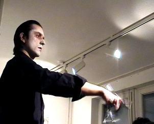 Einführung/Performance | Klaus Fabricius | Artist Künstler | Information