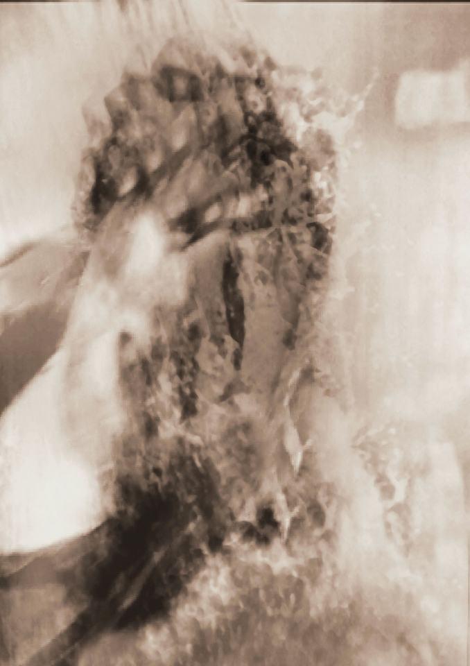 ... ertrunken im Ich II...[Digital Fotografie]/2020/Pigmentdruck auf Papier/50x40cm | Klaus Fabricius | Artist Künstler | Information