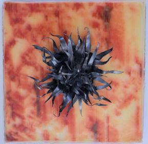 Gadda-Da-Vida I/2018/Fotografie/Acryl Blei Waben/30x30x13cm | Klaus Fabricius | Artist Künstler | Information