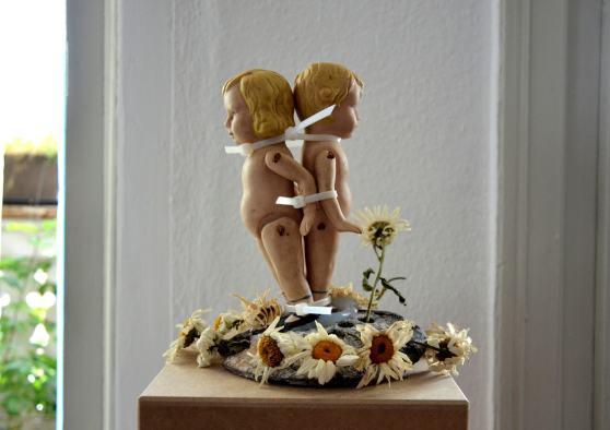 kleine figurengruppe/2016 | Klaus Fabricius | Artist Künstler | Information