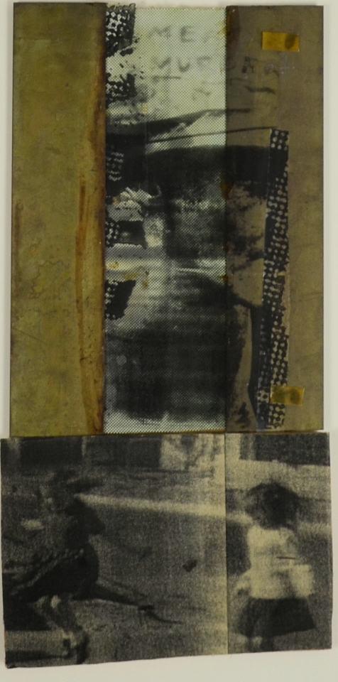 Meta ist Murder/1992/Fotokopie/BJ-Druck,Messing/Tesa/ 46x23cm | Klaus Fabricius | Artist Künstler | Information