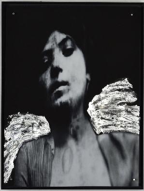 Portrait/2018/Fotografie/Schlagmetall/40x30cm | Klaus Fabricius | Artist Künstler | Information