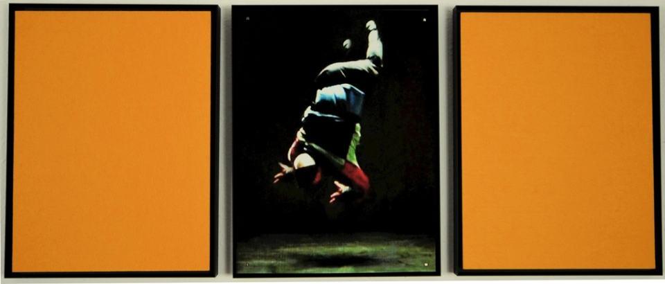 Reflexe der Gegenwart/2019/Triptychon/Fotografie Filz/40x100 | Klaus Fabricius | Artist Künstler | Information