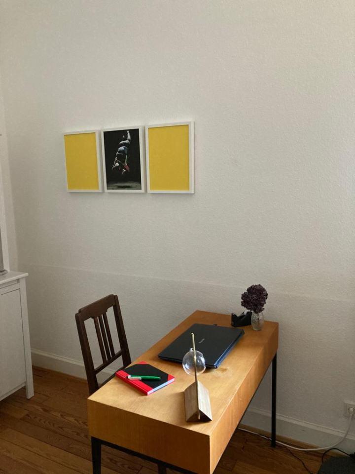 Reflexe der Gegenwart /EA/2020/Triptychon/Fotografie Filz/30x90cm/ privat Besitz Saarland | Klaus Fabricius | Artist Künstler | Information