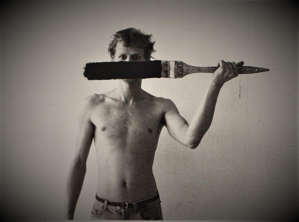 Selbst... nicht redend.../Foto Roland Widmer (mein unötig verstorbener Freund) | Klaus Fabricius | Artist Künstler | Information