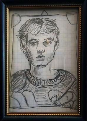 Selbstportrait/1993 | Klaus Fabricius | Artist Künstler | Information