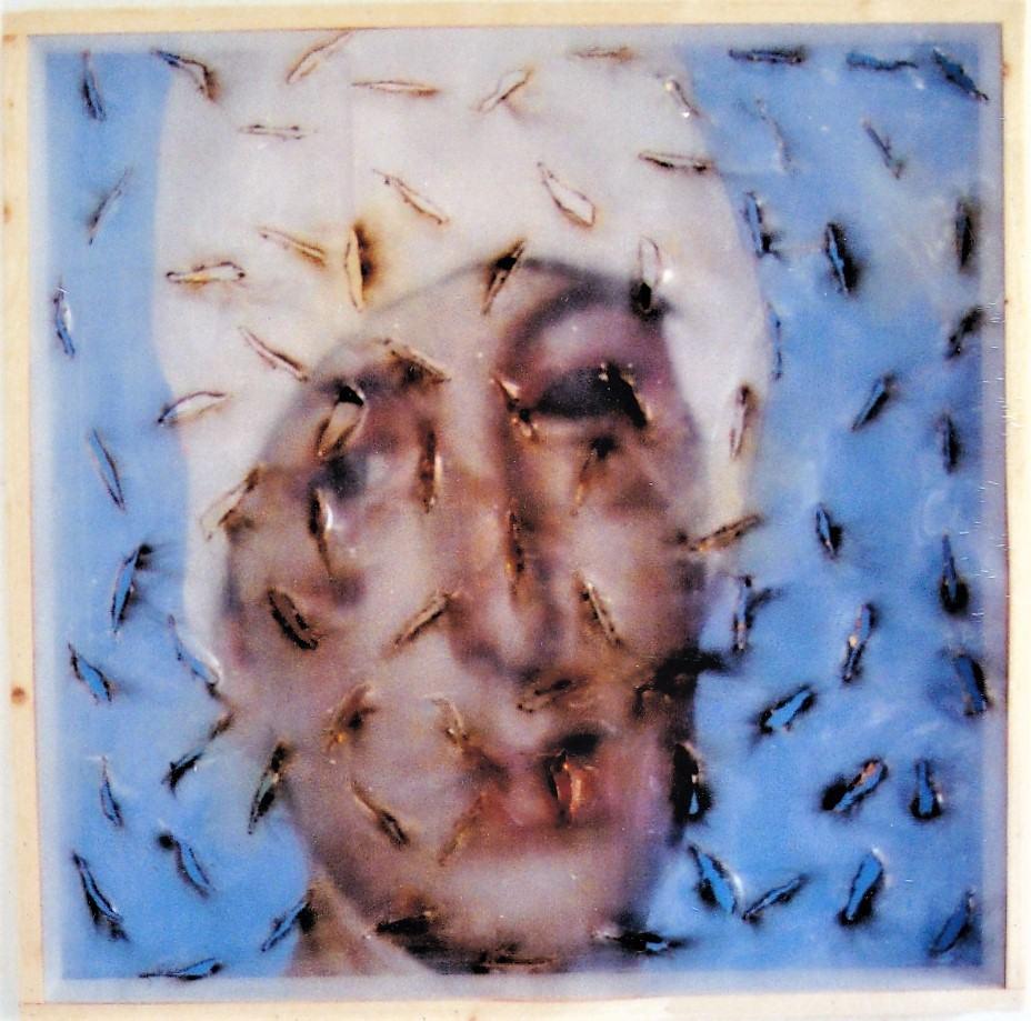 Starless/1989/Fotografie Collagen Print Acrylglasscheibe/80x80x110cm | Klaus Fabricius | Artist Künstler | Information