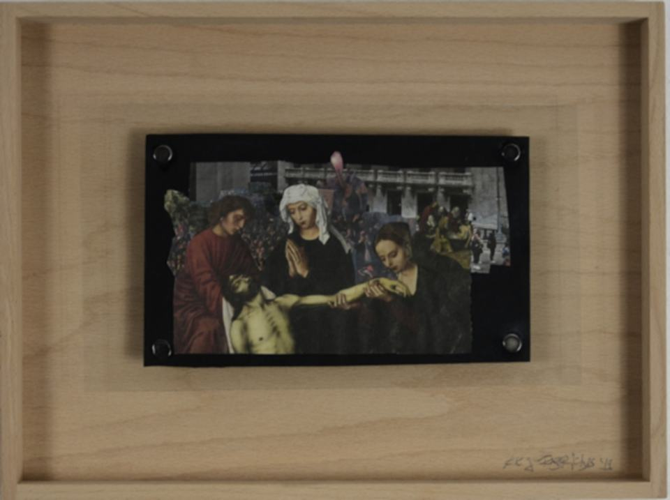 StockEx/2019/Collage/23x14cm | Klaus Fabricius | Artist Künstler | Information