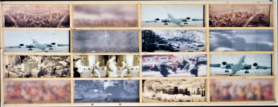 Streifzüge durch die Bilderwelt/1997/Fotografie Capture Prints mattierte Folie/90x200x12cm | Klaus Fabricius | Artist Künstler | Information
