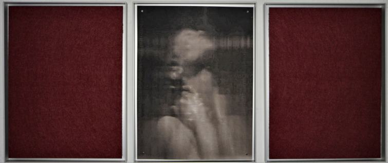 Szeneische Rekonstruktionm II/2019/fotografie/Filz/40x 00cm | Klaus Fabricius | Artist Künstler | Information