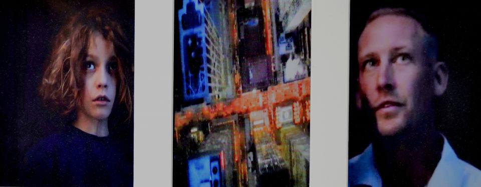 Time Line I /2017/TV.Capture/Fotografie/22x48cm | Klaus Fabricius | Artist Künstler | Information