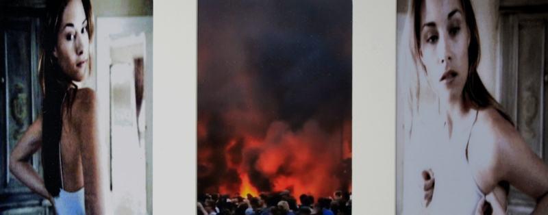Time Line II /2017/TV.Capture/Fotografie/22x48cm | Klaus Fabricius | Artist Künstler | Information