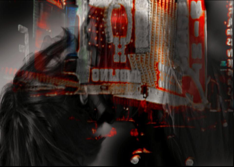 Tumult im Schatten ohne Licht/2020/Digital Fotografie Collage/ 40x50cm | Klaus Fabricius | Artist Künstler | Information