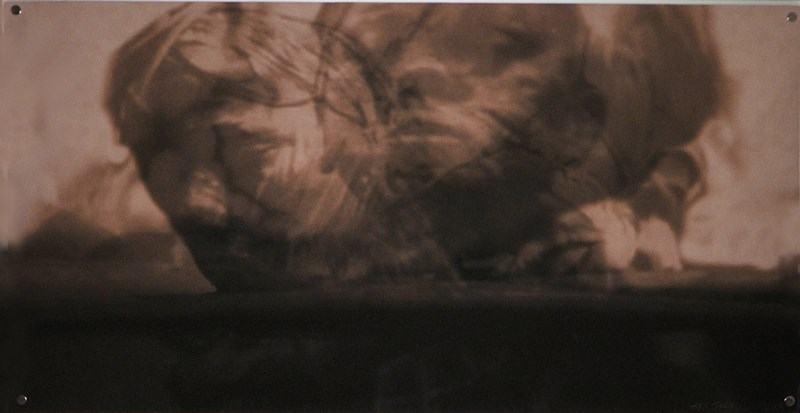 Verquer/2019/Fotografie/TV Capture Montage/Leinwand/40x80cm | Klaus Fabricius | Artist Künstler | Information